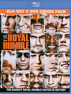 WWE: Royal Rumble 2011 (Blu-ray/DVD, 201...