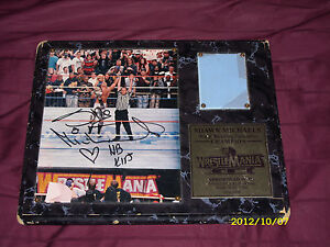 WWE-Shawn-Michaels-Autographed-Signed-Wrestlemania-XII-12-Photo-Mat    Shawn Michaels Wrestlemania 12