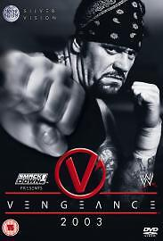 WWE - Vengeance 2003 (DVD 2003)