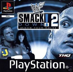 WWF Smackdown 2 for Sony PlayStation 1