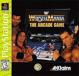 WWF Wrestlemania: The Arcade Game (Sony