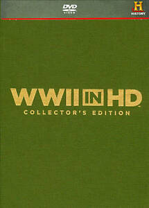 WWII in HD (DVD, 2011, 5-Disc Set, Colle...