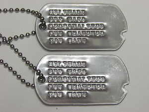 Personalized Military Dog Tags Uk