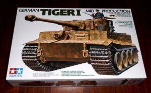 WWII-german-Sd-Kfz-181-Tiger-I-Midd-Produktion-1-35-Tamiya-Neu