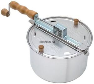 Wabash Valley Farms 25008 Whirley-Pop Stovetop Popcorn Popper, Free Shipping