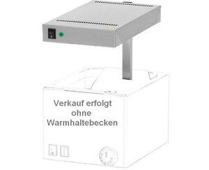 Waermebruecke-NEU-Gastro-Waermestrahler-Waermelampe-Speisenwaermer-Speisen-Warmhalten