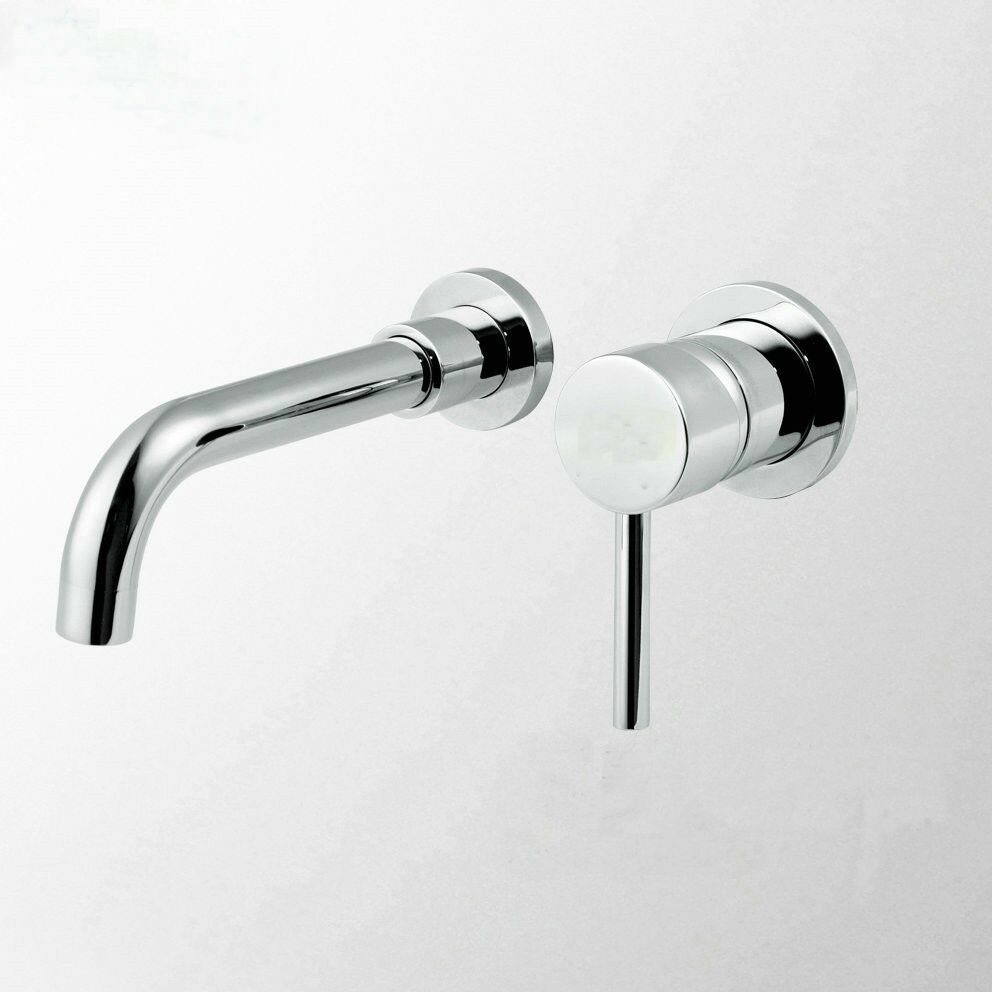 Modern Wall Mounted Waterfall Bath Basin Faucet Mixer Tap