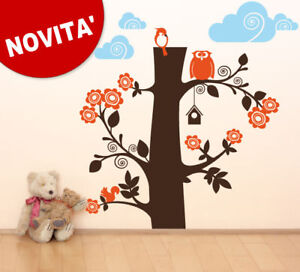Wall Stickers sticker Cameretta bimbo bosco 144x150 cm  eBay