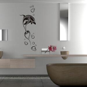 wandaufkleber wandtattoo k che bad wellness oase delphin. Black Bedroom Furniture Sets. Home Design Ideas