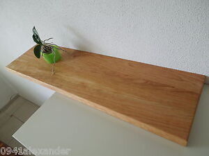 wandboard kirschbaum massiv holz board regal steckboard regalbrett neu auf ma ebay. Black Bedroom Furniture Sets. Home Design Ideas