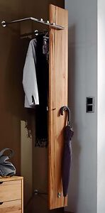 wandgarderobe flur garderobe kernbuche massiv holz ge lt. Black Bedroom Furniture Sets. Home Design Ideas