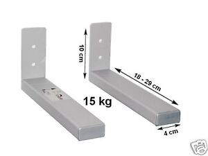 wandhalterung f r center speaker mittellautsprecher mittel lautsprecher neu ebay. Black Bedroom Furniture Sets. Home Design Ideas
