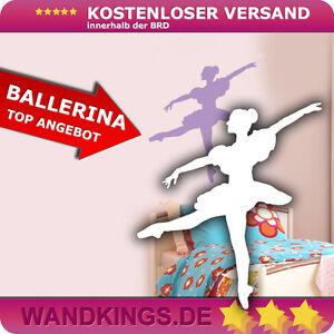 Wandkings-Wandtattoo-Ballerina-Ballett-Kinderzimmer-Tanzen-Wohnzimmer-44x50cm