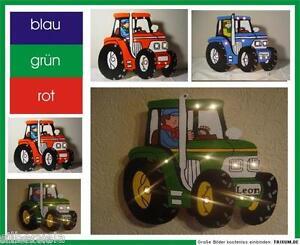 Wandlampe kinderzimmer leuchte lampe traktor fendt neu for Traktor lampe kinderzimmer