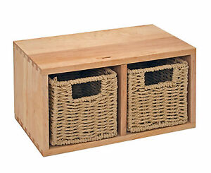 wandregal k chenregal bad flur regal mit 2 k rben aus walnuss holz massiv neu ebay. Black Bedroom Furniture Sets. Home Design Ideas