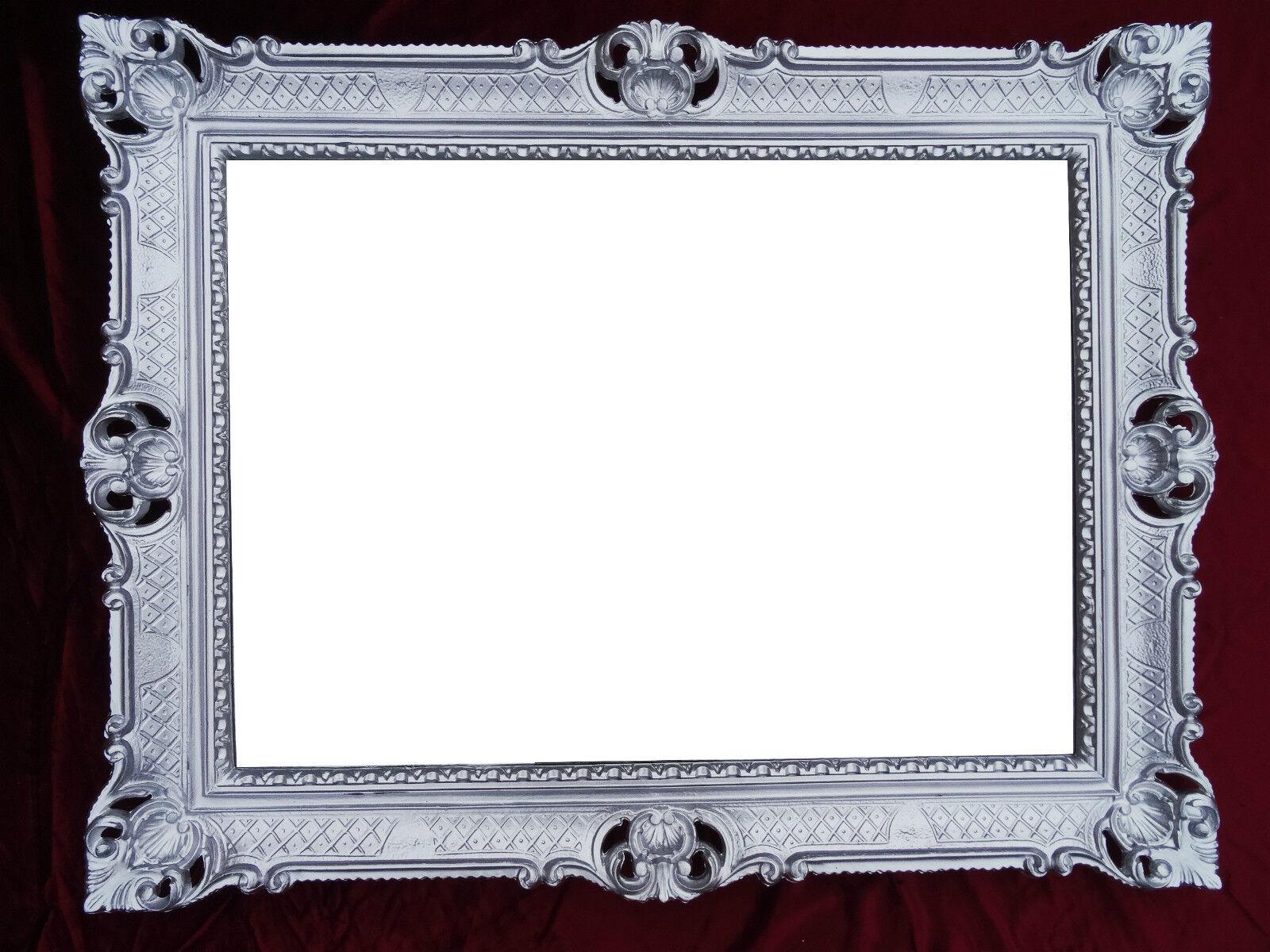 bilderrahmen 90x70 cm spiegelrahmen antik repro barock gold rechtkig reg3057 g ebay. Black Bedroom Furniture Sets. Home Design Ideas