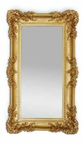 wandspiegel antik barock gold spiegel repro deko 97x57 gro ornamente ebay. Black Bedroom Furniture Sets. Home Design Ideas