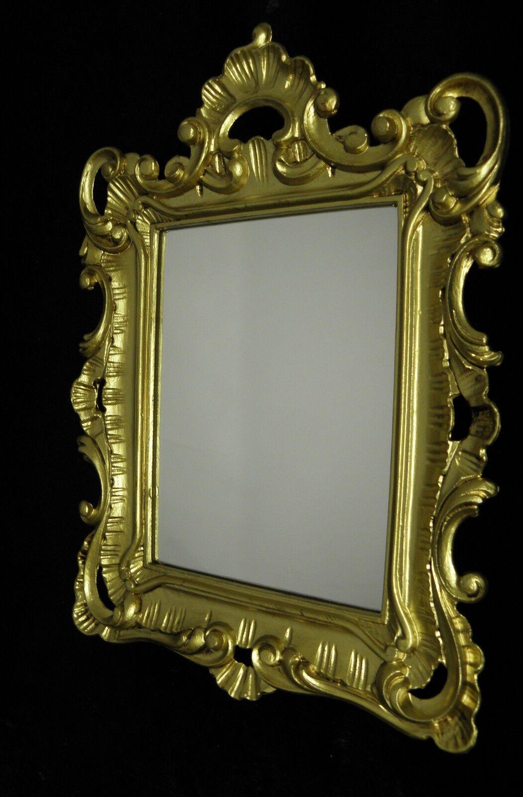 Wandspiegel Spiegel 41x28 Rahmen BAROCK Antik Rokoko GOLD Homedeko ...