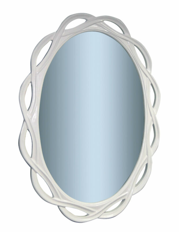 wandspiegel weiss gross xxl spiegel oval badspiegel 120 x 90 uvp798 ebay. Black Bedroom Furniture Sets. Home Design Ideas