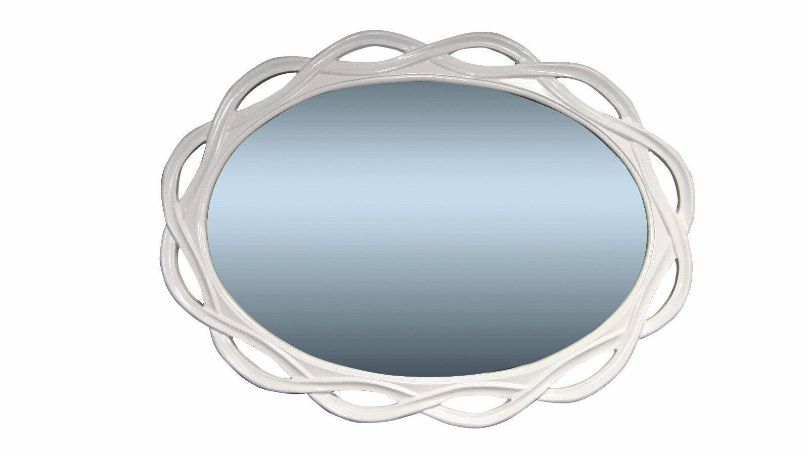 grosser wandspiegel gold spiegel oval 120 x 90 cm flurspiegel mirror ebay. Black Bedroom Furniture Sets. Home Design Ideas