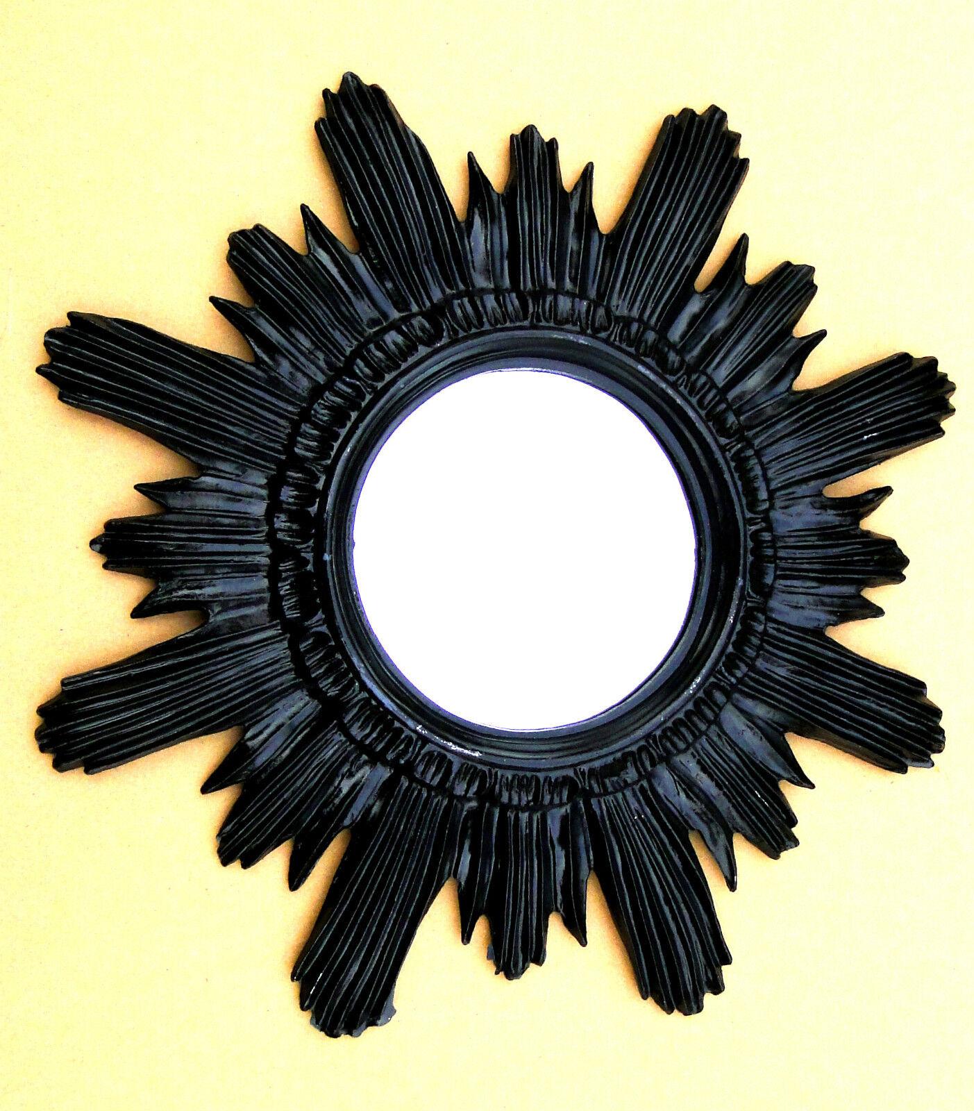 wandspiegel antik spiegel gold sonne retro shabby barock. Black Bedroom Furniture Sets. Home Design Ideas