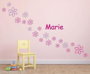 Wandtattoo-Blumen-Name-Wunschname-Kinder-Kinderzimmer