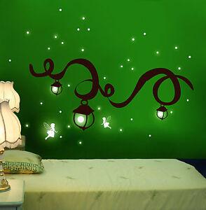 Wandtattoo elfen feen fluoreszierend leuchttattoo - Wandtattoo elfen ...
