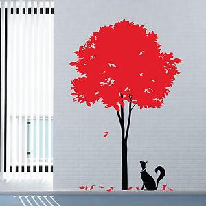 wandtattoo gro stylisch baum vinyl kunst wand aufkleber. Black Bedroom Furniture Sets. Home Design Ideas
