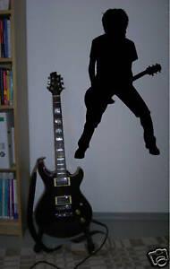 Details zu wandtattoo musik pop rock metal rockstar 2