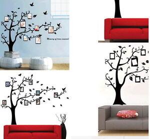 Wandtattoo stammbaum familie wanddeko bilderrahmen 90x110 cm for Fenster 90x110