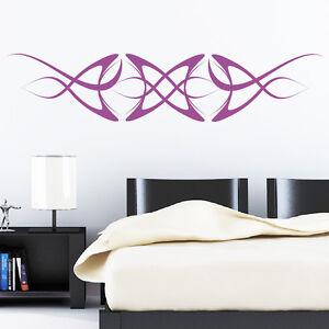 wandtattoo tribal zeichen deko kunst wandaufkleber ebay. Black Bedroom Furniture Sets. Home Design Ideas