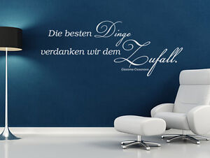 wandtattoo wandsticker sprueche zitate die besten dinge. Black Bedroom Furniture Sets. Home Design Ideas