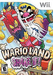 Wario Land: Shake It!  (Nintendo Wii, 20...