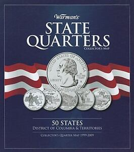 Warman's State Quarter Collector's Map b...
