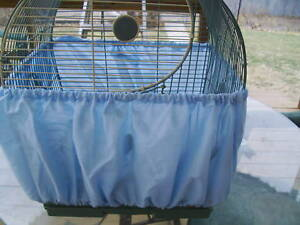 "Washable Bird Seed Catcher Skirt for Cages 38""-60"" #2 in Pet Supplies, Bird Supplies, Cages 
