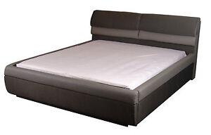 wasserbett komplett softside mono mit rahmen luxus braun. Black Bedroom Furniture Sets. Home Design Ideas
