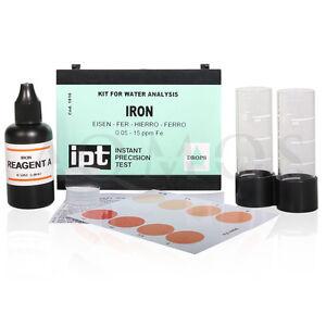 Wasserprobe-Eisen-Iron-Indikator-zur-Eisen-Bestimmung-Test-Water-Kit-Set