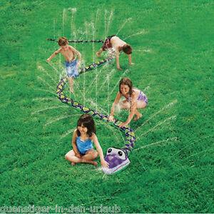 wasserspiel f r kinder wasserspritzende schlange kinderspiel sprinkler spiel ebay. Black Bedroom Furniture Sets. Home Design Ideas