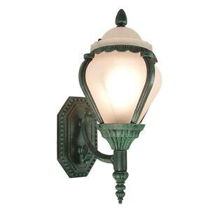 water green colored outdoor wall light lighting fixture ebay