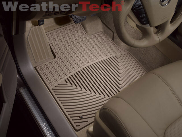 Weathertech® All Weather Floor Mats Nissan Murano 2009 2013 Tan