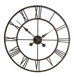 Weathereye-Metal-Frame-30-Outdoor-Garden-Clock-WEA07