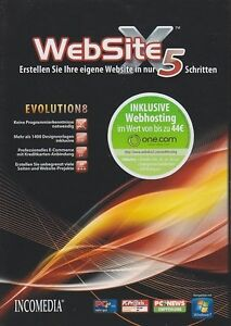 WebSite-X5-Evolution-V-8-Webdesign-Web-Seiten-Software