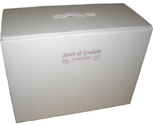 Wedding bridesmaid dress storage and travel boxes 3 for Acid free boxes for wedding dresses