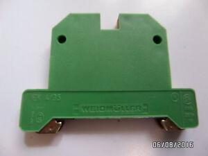 Weidmueller-EK-4-35-4mm-Reihenklemme-Durchgangsklemme-Schutzleiterklemme