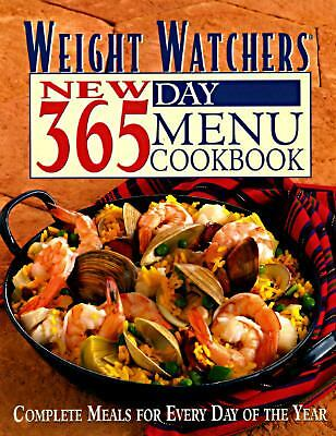 Weight Watchers New 365 Day Menu Cookbook By Inc Staff Weight On