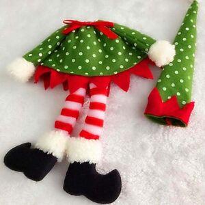 Weihnachten-Red-Weinflasche-Covers-Tasche-Ornament-Dinner-Table-Party-Decor