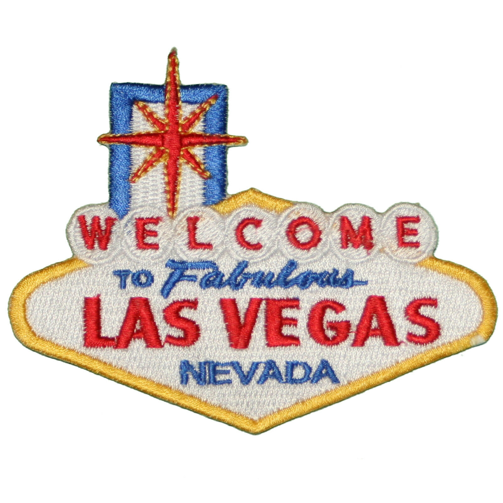 Welcome to fabulous las vegas embroidered iron on or sew