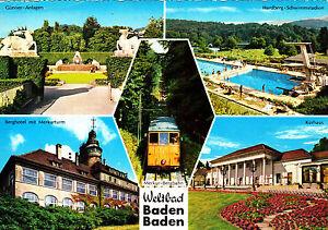 Weltbad-Baden-Baden-ungel-Ansichtskarte
