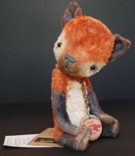 Wendy Meagher , by Whendi's Bears , Red Fox, rare in Dolls & Bears, Bears, Artist | eBay
