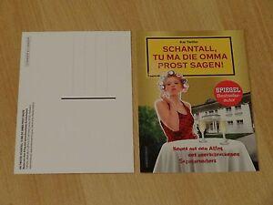 Werbepostkarte-Schantall-tu-ma-die-Omma-Prost-sagen-Karte-Postkarte